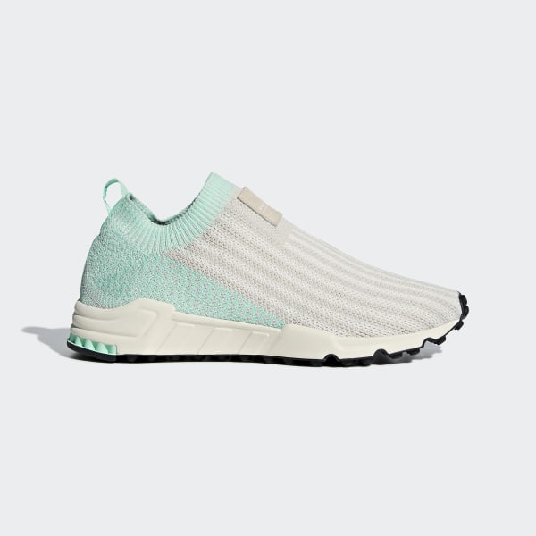 new style 8b09d cfaae EQT Support Sock Primeknit Shoes Clear Brown  Chalk White  Clear Mint  AQ1210