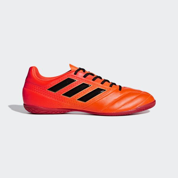 Chuteira Ace 17.4 Futsal SOLAR ORANGE CORE BLACK SOLAR RED S77101 e8b63dbe77cc1