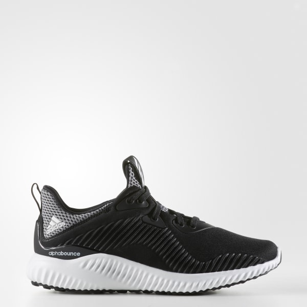 buy popular 49bc5 26303 alpha bounce j CORE BLACK  WHITE ONIX B54169