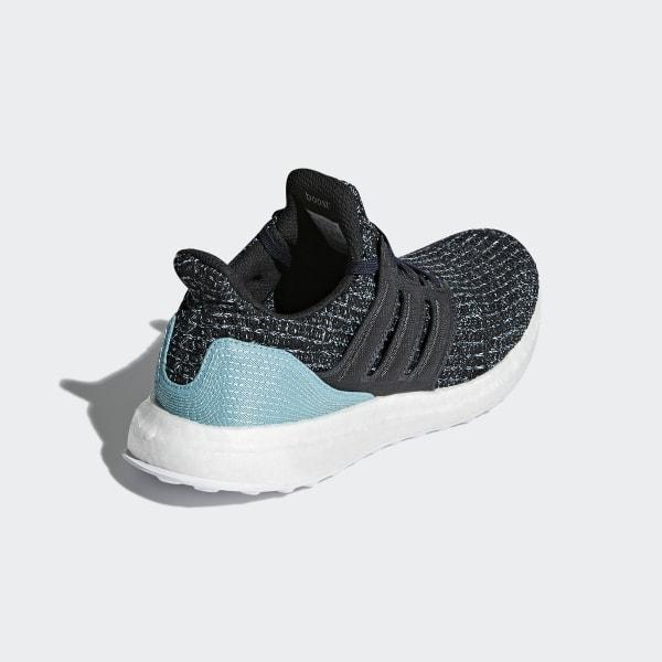 0011491a38b Ultraboost Parley Shoes Carbon   Carbon   Blue Spirit CP8778