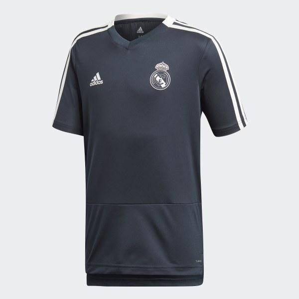 Maglia da allenamento Real Madrid Blue   Core White CW8647 36d90075c237