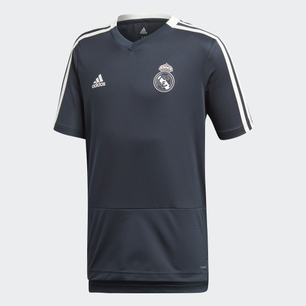 c39f0f55ea6d5 Real Madrid Training Jersey Blue   Core White CW8647