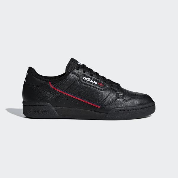 adidas continental 80 uomo bianco e rosso  Scarpe Continental 80 - Nero adidas   alia