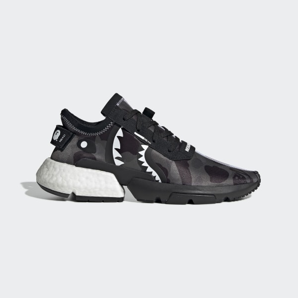 on sale c6b28 b807a adidas NEIGHBORHOOD BAPE POD-S3.1 Shoes - Black | adidas Ireland