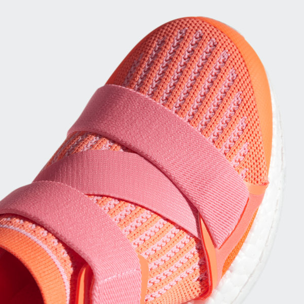 9b05756c05af2 Ultraboost X Shoes Glow Orange   Hyper Pop   Core Black BB6266