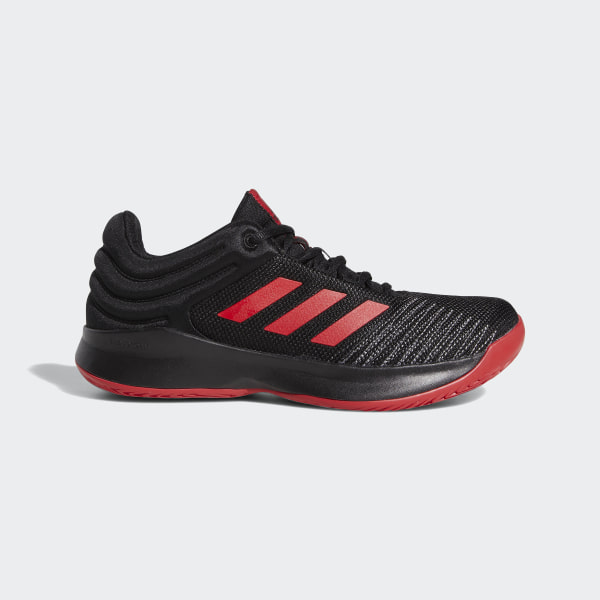 6acae30318 Pro Spark 2018 Low Shoes Core Black   Scarlet   Grey Four F99902