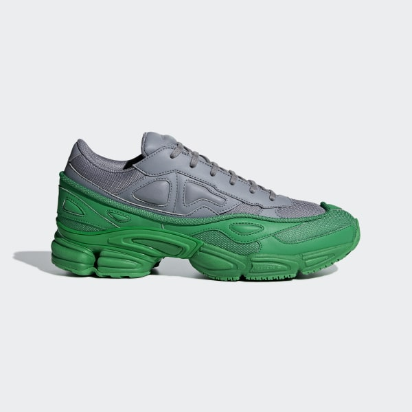 61bb16cfab91de RS Ozweego Shoes Green   Grey   Grey F34266