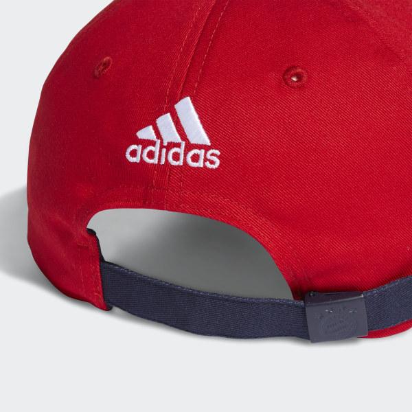 Gorra 3 Tiras FC Bayern FCB TRUE RED WHITE COLLEGIATE NAVY DI0244 fbddaa579ab