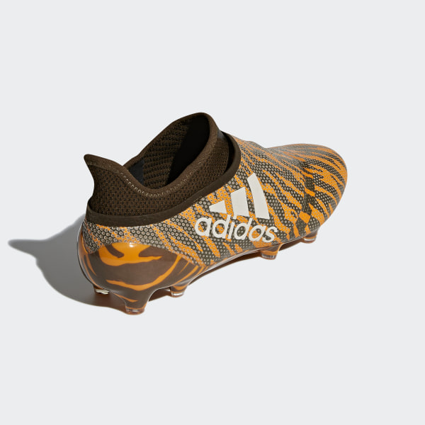 07614eeef0cc X 17+ Purespeed Firm Ground Boots Bright Orange Talc Trace Olive CP9121