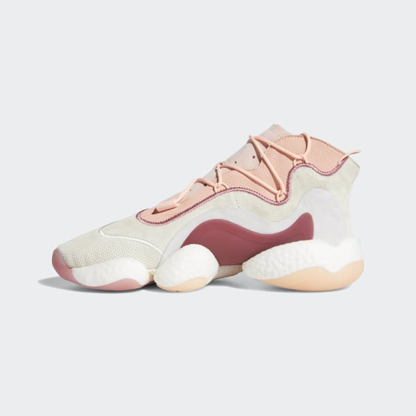 new arrivals e6661 86788 Crazy BYW Shoes Cream White  Clear Orange  Clear Grey AQ1180