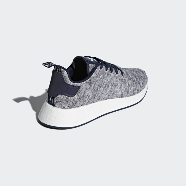 3bbe0c9d1 UA SONS NMD R2 Shoes Core Heather   Matte Silver   Cloud White DA8834
