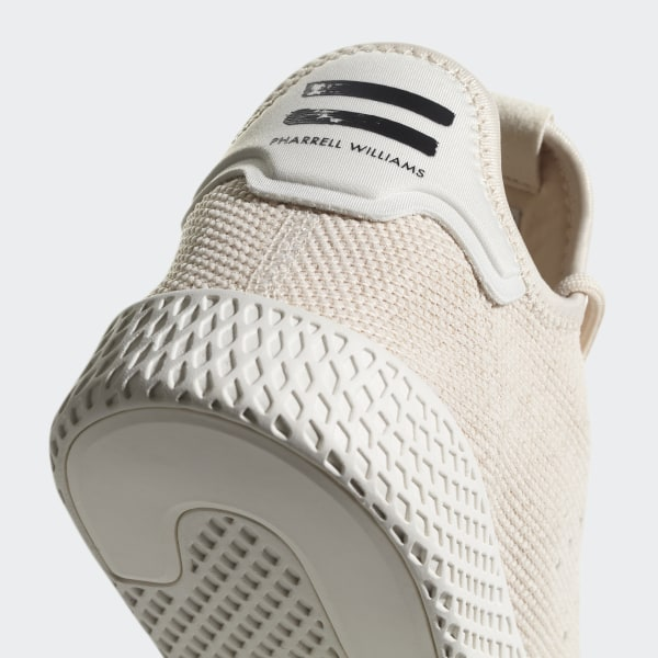 27d9f1556 Pharrell Williams Tennis Hu Shoes Linen   Linen   Chalk White AC8699