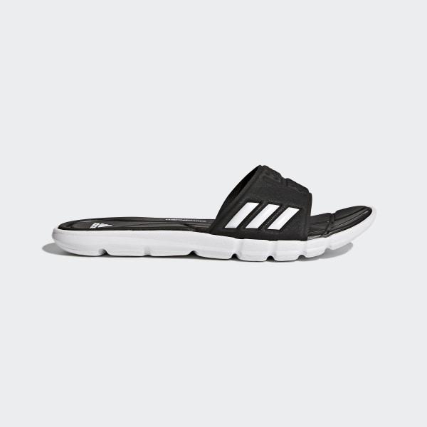 76aeb7ffcd0edb adidas Adipure Cloudfoam Slides - Black