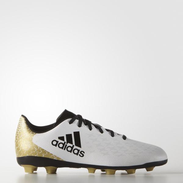 Calzado Fútbol X 16.4 FXG Junior WHITE CORE BLACK GOLD MET. AQ4356 a86b2c4469aa8