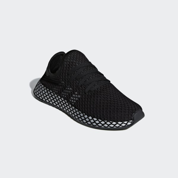 separation shoes 2ae47 35d5f Deerupt Runner Shoes Core Black  Silver Metallic  Core Black CG6088