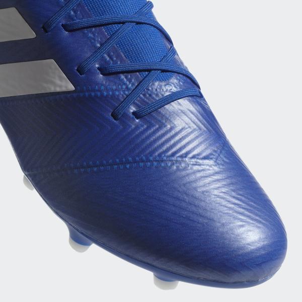 4515c8ca7e92 Nemeziz 18.2 Firm Ground Boots Football Blue   Ftwr White   Football Blue  DB2092