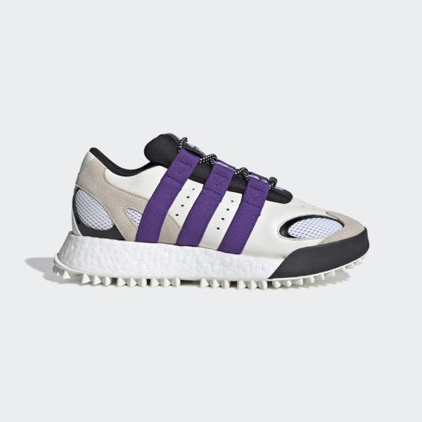 b04755599 adidas Originals by AW Wangbody Run Shoes Core White   Sharp Purple   Clear  Brown EF2437