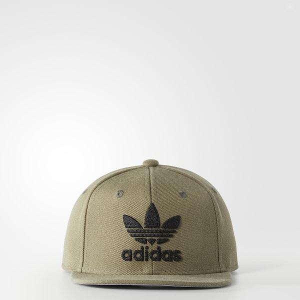 adidas Trefoil Snapback Hat - Green  bdc368d8fa1