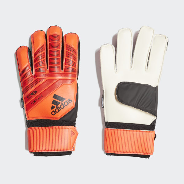 76fba7b3dc18 adidas Predator Top Training Fingersave Gloves - Red