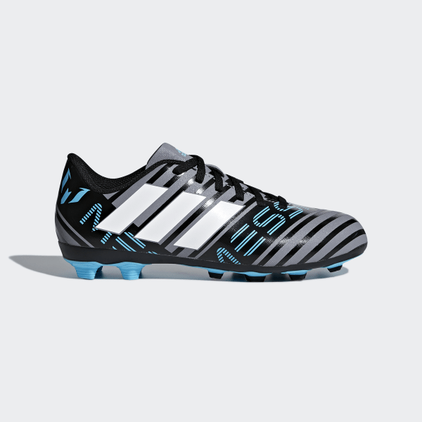 bbeabda3ab845 Zapatos de Fútbol Nemeziz Messi 17.4 Terreno Flexible GREY FTWR WHITE CORE  BLACK CP9211