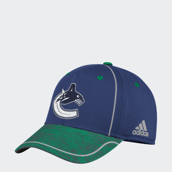 adidas Canucks Flex Draft Hat - Nhlvca  486dc7f3f0ff