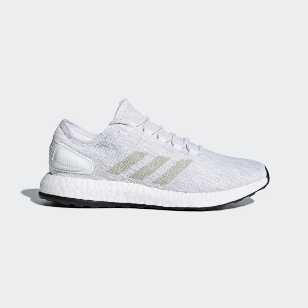 ec0843742dbf Pureboost Shoes Cloud White   Grey One   Crystal White BB6277