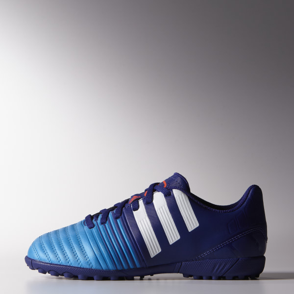 Chuteira Nitrocharge 4.0 TF Junior - Society AMAZON PURPLE   FTWR WHITE    SOLAR BLUE2 B44153 182d917d334a8