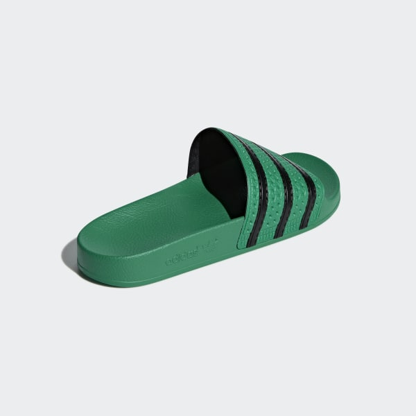 Adilette Slides Bold Green   Core Black   Bold Green CM8443 e145c816f