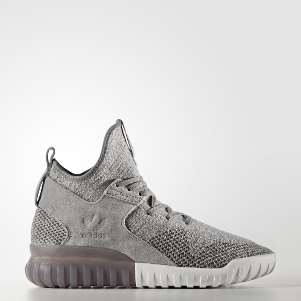 low priced 489a5 e1120 Tenis Tubular X Primeknit CH SOLID GREY UTILITY BLACK CRYSTAL WHITE BB2380