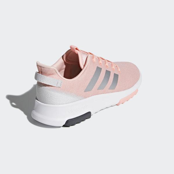 82af52e0f1c7 Cloudfoam Racer TR Shoes Haze Coral   Silver Metallic   Cloud White DB1868