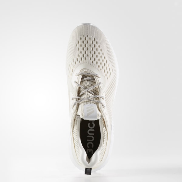 1e47f2190627 Alphabounce EM Shoes Chalk White   Cloud White   Talc BW1207
