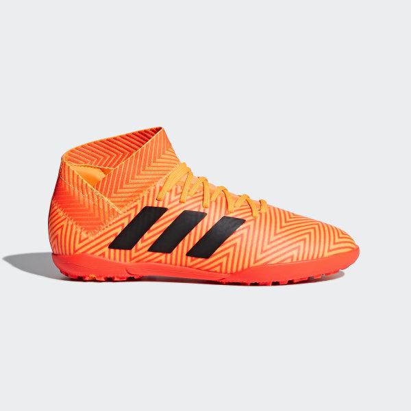 separation shoes a2283 7a1e3 Calzado Nemeziz Tango 18.3 Turf Niño ZEST CORE BLACK SOLAR RED DB2377