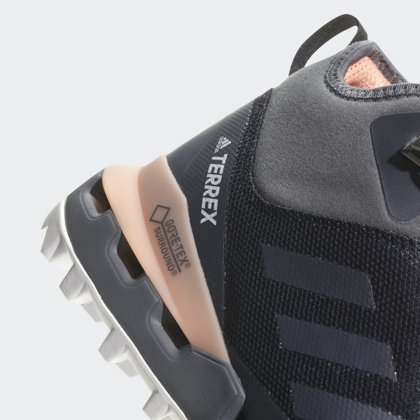 low priced 54566 e1f3a Chaussure TERREX Fast Mid GTX-Surround Core BlackGrey FiveChalk Coral  AH2250