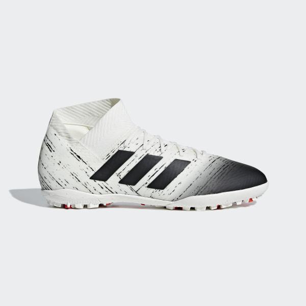 743507913b2 Zapatos de Fútbol NEMEZIZ 18.3 TF Off White   Core Black   Active Red D97986