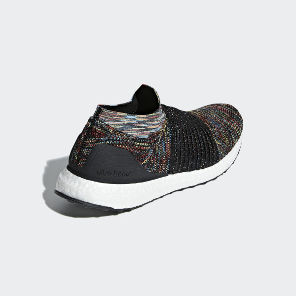 97d5effecf0 Ultraboost Laceless Shoes Core Black   Shock Yellow   Active Red B37687