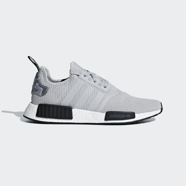 12023ff4a NMD R1 Shoes Grey Two   Grey Two   Core Black B37617