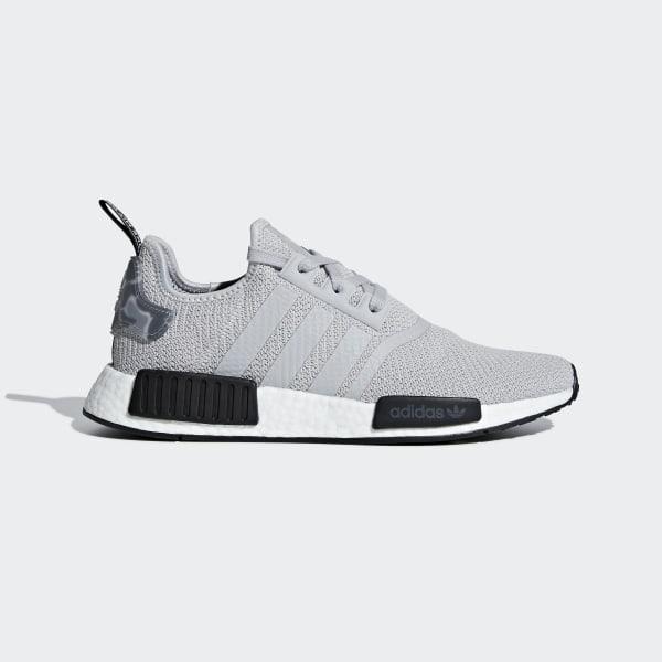 71af9c5de NMD R1 Shoes Grey Two   Grey Two   Core Black B37617