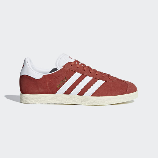 Gazelle Shoes Red   Cloud White   Cream White B37944 1a2e92c8b396