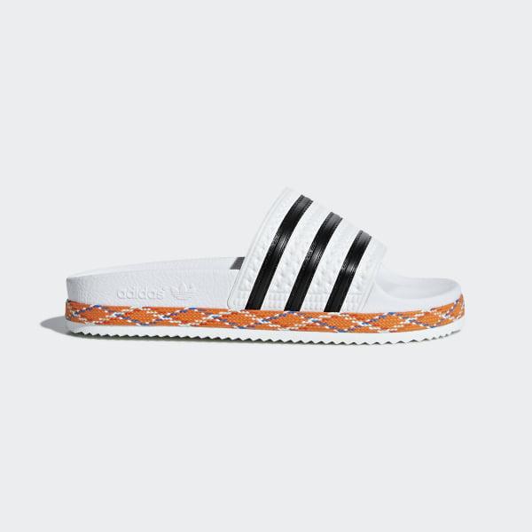8d9c0184522128 Adilette New Bold Sandals Ftwr White   Core Black   Ftwr White B28117