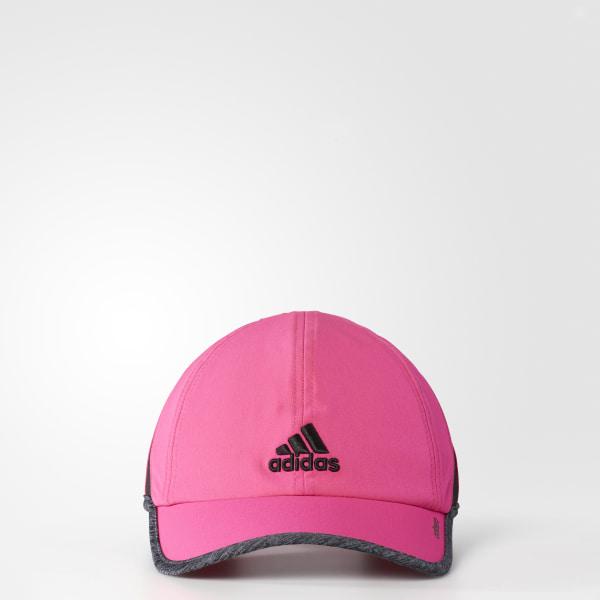 adizero 2 Hat Shock Pink BH9354 ef10ab76823
