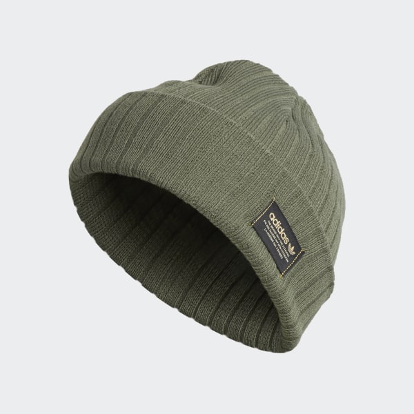 Rib Beanie Medium Green CK2409 9d565b51363