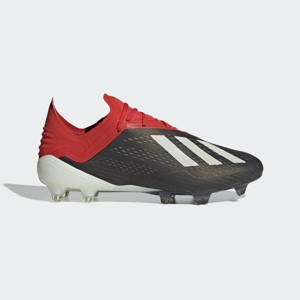 designer fashion b5757 a3478 Chaussure X 18.1 Terrain souple Core Black  Ftwr White  Active Red BB9345