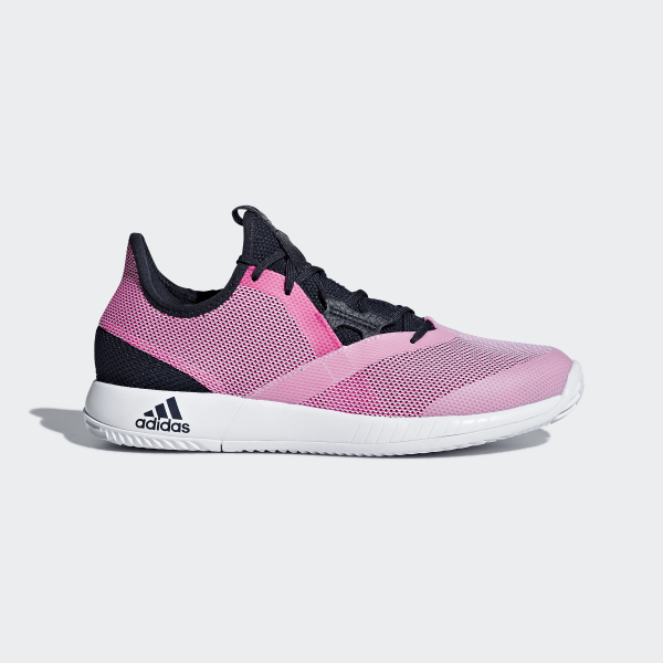 5ae0ee602 adizero Defiant Bounce Shoes Legend Ink   Shock Pink   Cloud White AH2111