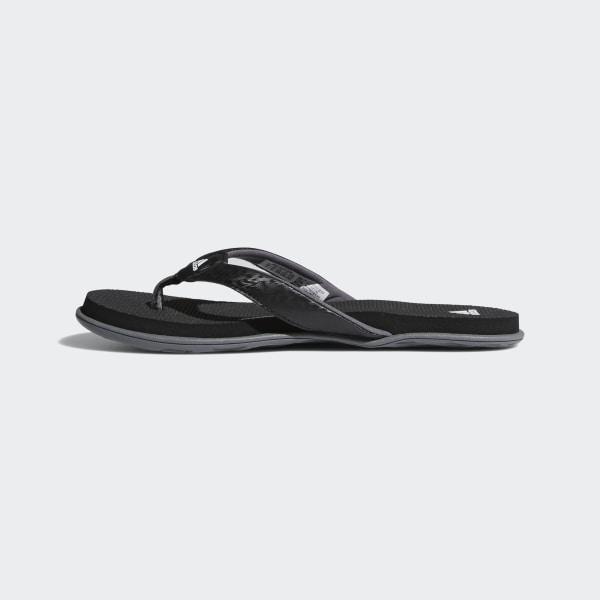 ce330cfb0b84 Cloudfoam One Thong Sandals Core Black   Cloud White   Grey Four B41746