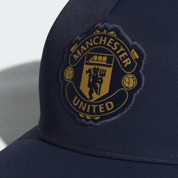 9ae8cf051a64c Gorra Manchester United COLLEGIATE NAVY MATTE GOLD CY5590