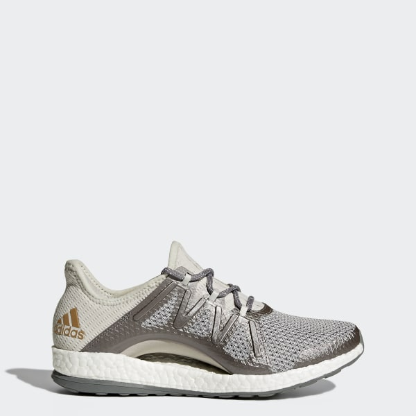 f37f848a20ab PureBOOST Xpose Shoes Grey   Grey   Tactile Gold Metallic BA8271