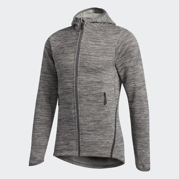 17b0cb2dd252 FreeLift Climaheat Hoodie Charcoal Solid Grey   Grey DM4378