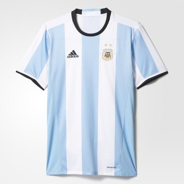 pretty nice 9f01c 139b4 Camiseta de local de Argentina CLEAR BLUE WHITE BLACK AH5144