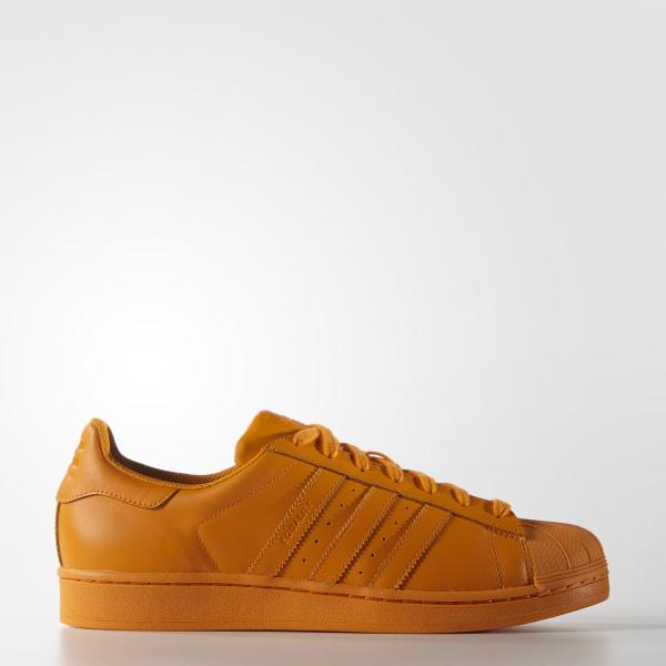 best sneakers 4ead5 6c3e3 Zapatillas Superstar 80s Pharrell Supercolor BRIGHT ORANGE BRIGHT  ORANGE BRIGHT ORANGE S83394