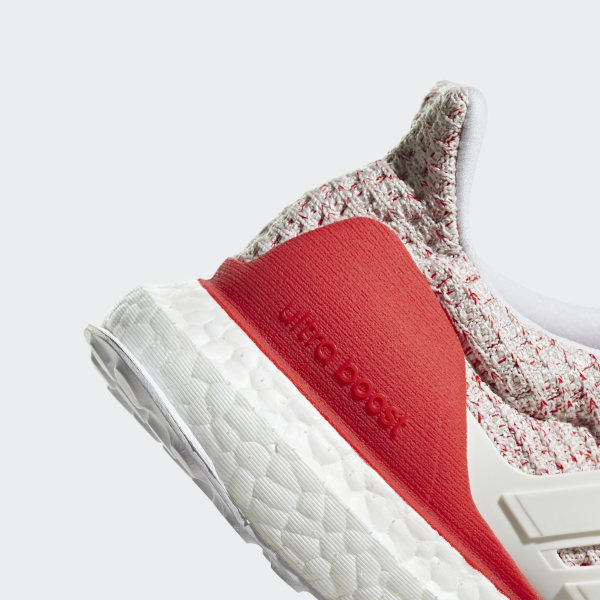 a7761d3b52a Ultraboost Shoes Chalk White   Chalk White   Active Red DB3209